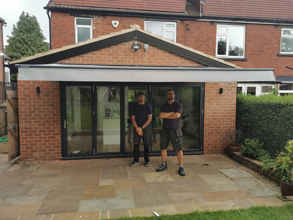 weinor Topas Awning Installed In Roundhay